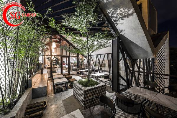 quán cafe sân vườn 3