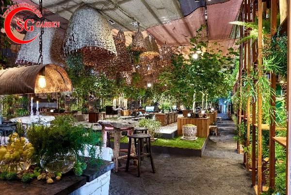 quán cafe sân vườn 4