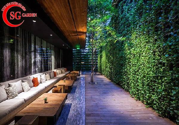 quán cafe sân vườn 6