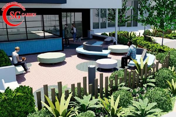 quán cafe sân vườn 7