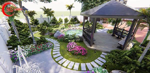sân vườn biệt thự 3