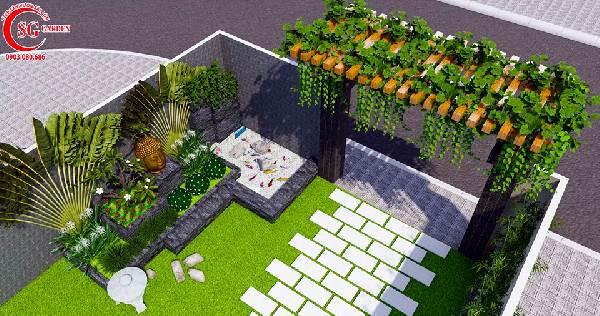 sân vườn biệt thự phong cách nhật bản 7