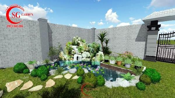 sân vườn biệt thự phong cách nhật bản 9