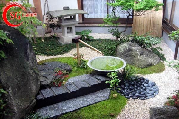 sân vườn nhỏ nhật bản 4