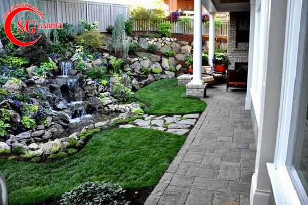 sân vườn nhỏ đẹp 11