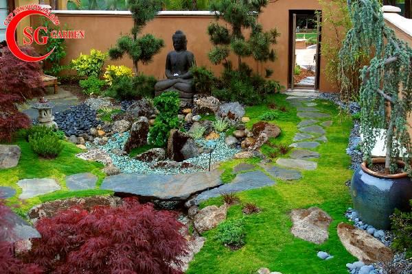 sân vườn nhỏ đẹp 3
