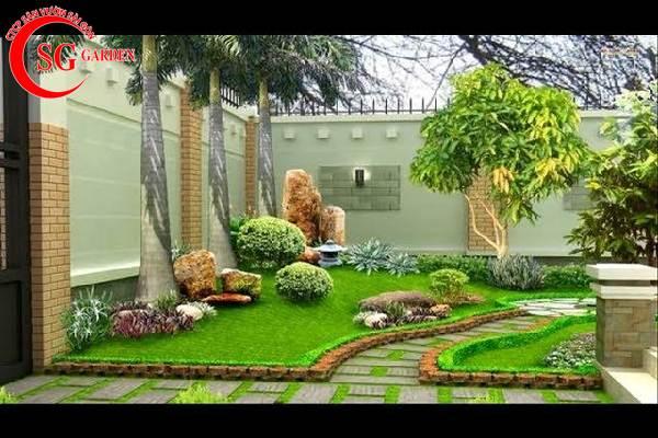 sân vườn nhỏ đẹp 9