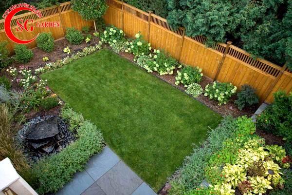 sân vườn nhỏ sau nhà 1