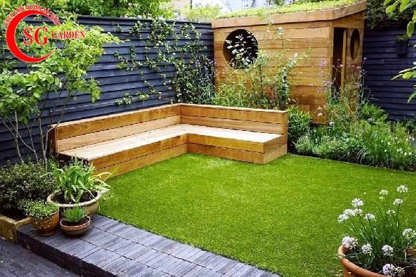 sân vườn nhỏ sau nhà 3