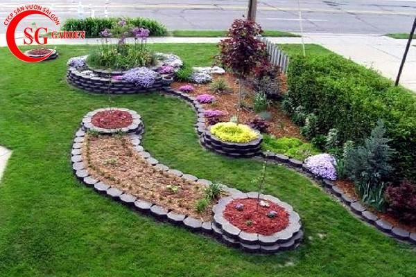 sân vườn nhỏ trước nhà 2