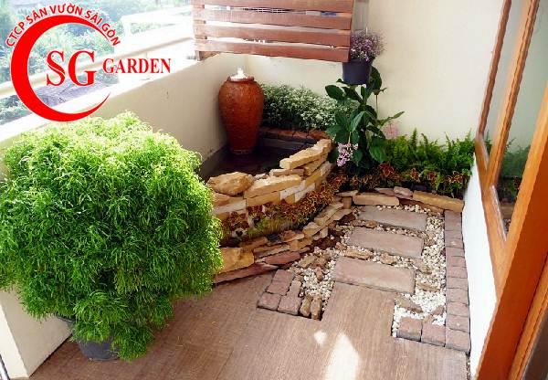 tiểu cảnh sân vườn 29