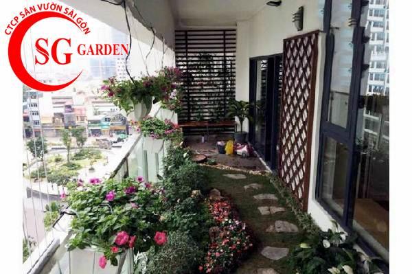 tiểu cảnh sân vườn 14
