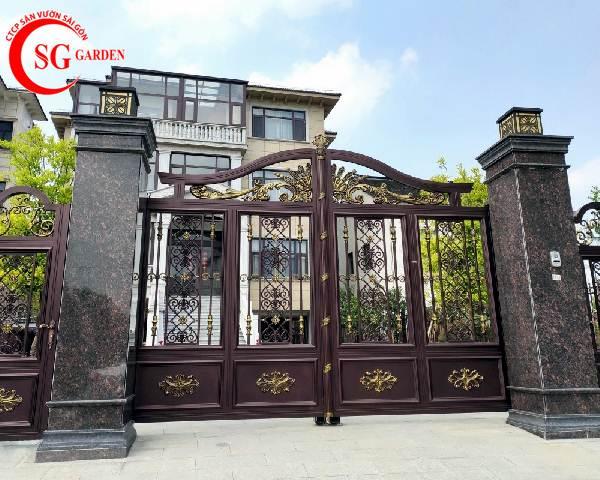 cổng rào biệt thự 1