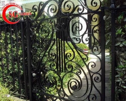 cổng rào biệt thự 10