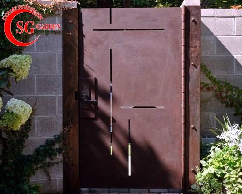 cổng rào biệt thự 22