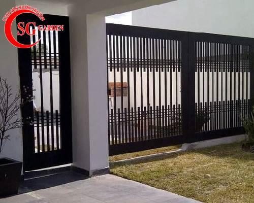 cổng rào biệt thự 28