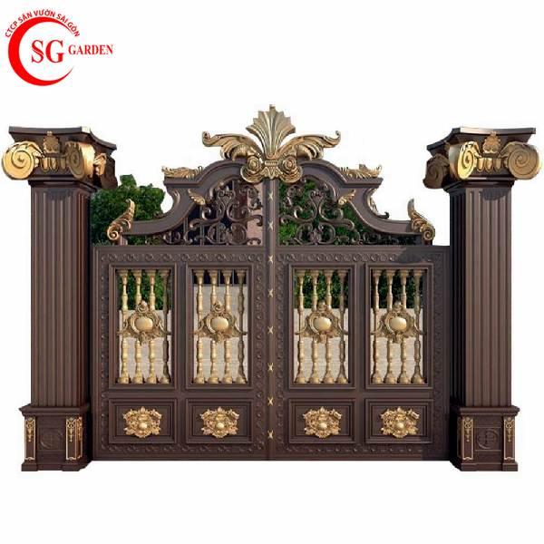 cổng rào biệt thự 4