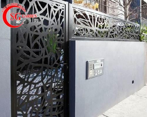 cổng rào biệt thự 39
