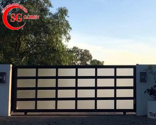 cổng rào biệt thự 41
