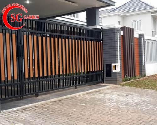 cổng rào biệt thự 45