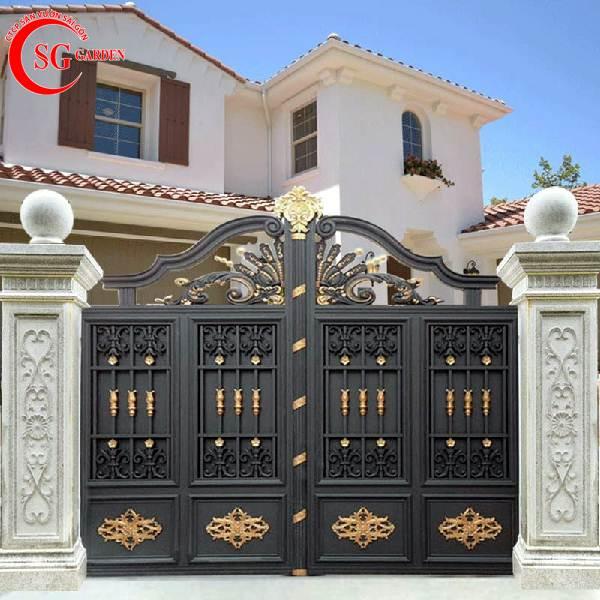 cổng rào biệt thự 5