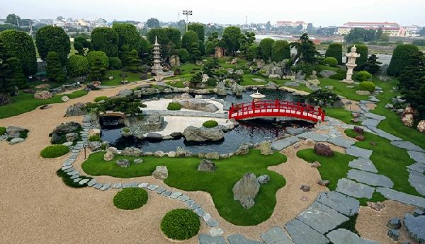 công viên cá chép nhật rin rin 5