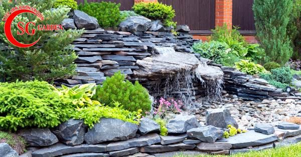 đá lát sân vườn đẹp 10