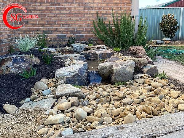 đá lát sân vườn đẹp 11