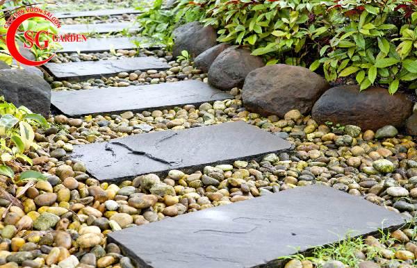 đá lát sân vườn đẹp 12