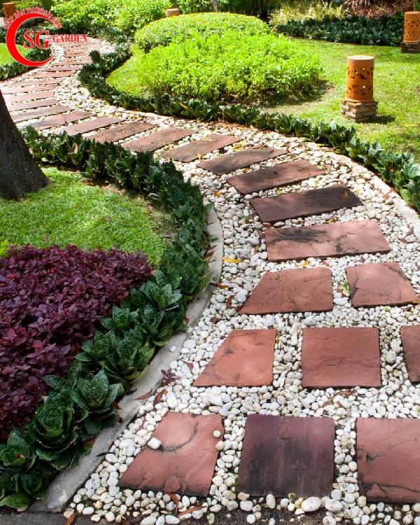 đá lát sân vườn đẹp 13