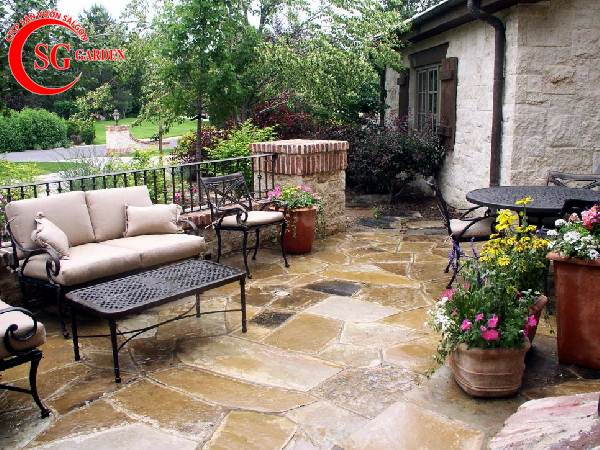 đá lát sân vườn đẹp 2