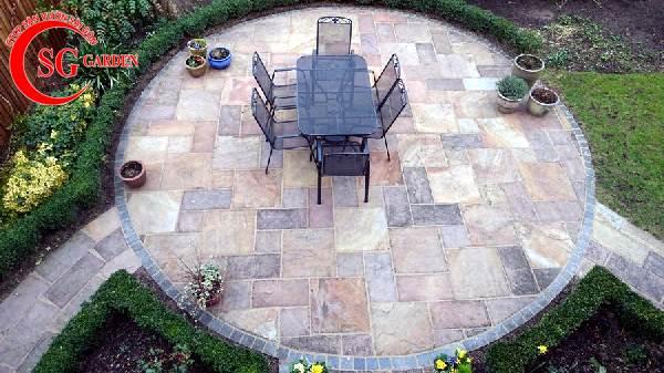 đá lát sân vườn đẹp 3