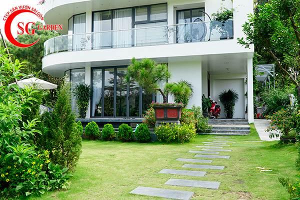 sân vườn trước nhà phong cách Việt Nam 1