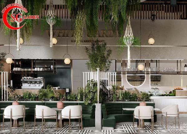 thiết kế nhà hàng sân vườn 11