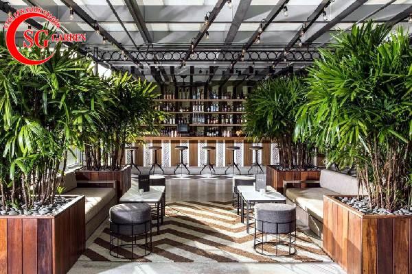 thiết kế nhà hàng sân vườn 15