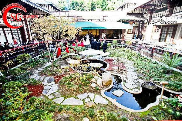 thiết kế nhà hàng sân vườn 7