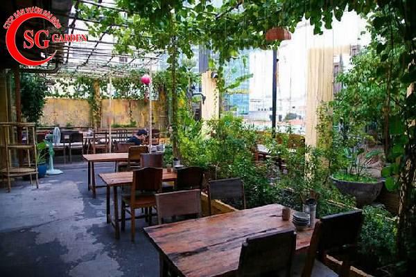 thiết kế nhà hàng sân vườn châu á 3