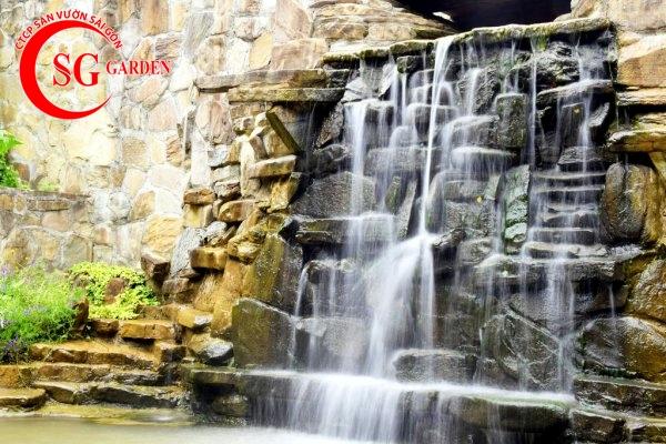 tiểu cảnh thác nước 5