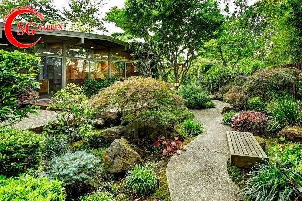 trang trí sân vườn trước nhà đẹp 6