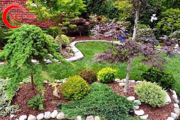 trang trí sân vườn trước nhà đẹp 7