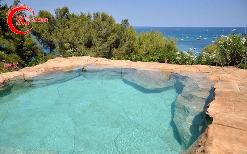 non bộ hồ bơi 15